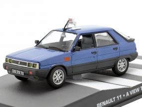 Renault 11 James Bond Movie Car Drown In Blue 1:43 Ixo