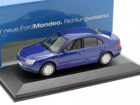 Ford Mondeo Limousine Year 2002 blue 1:43 Minichamps