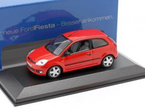 Ford Fiesta 3-door Year 2001 red 1:43 Minichamps