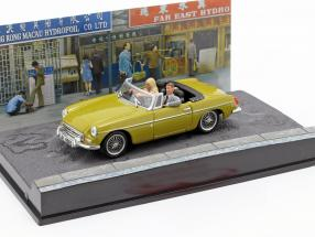 MGB James Bond Movie Car of the man with the golden gun gold 1:43 Ixo