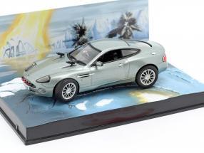Aston Martin V12 Vanquish James Bond Movie Stirb an einem anderen Tag 1:43 Ixo