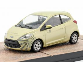 Ford Ka James Bond Movie Quantum of Solace Car Ixo gold 1:43