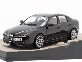 Alfa Romeo 159 James Bond Movie Quantum of Solace Car Black 1:43 Ixo