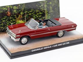 Chevrolet Impala James Bond movie Live and Let Die dark 1:43 Ixo
