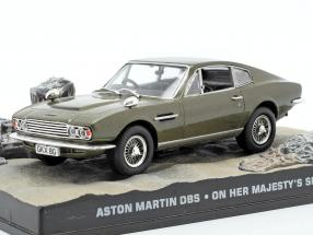 Aston Martin DBS James Bond Movie Car Her Majestys Secret 1:43 Ixo