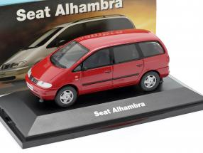 Seat Alhambra I year 1996-2010 red 1:43 Seat
