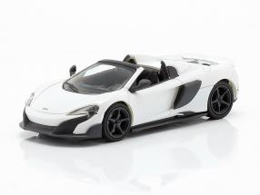 McLaren 675LT Spider year 2016 white 1:87 Minichamps