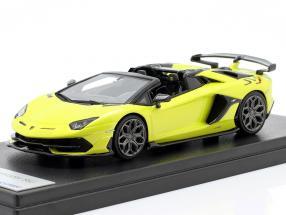 Lamborghini Aventador SVJ Roadster year 2019 tenerife yellow 1:43 LookSmart