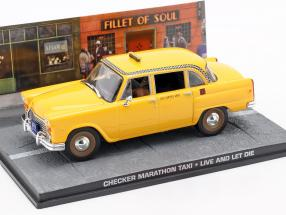 Checker Marathon Taxi James Bond Movie Car life and death leave 1:43 Ixo
