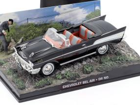 Chevrolet Bel Air Car James Bond movie Dr. No. 1:43 Ixo
