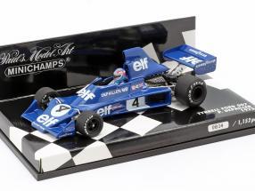 Patrick Depailler #4 Tyrrell Ford 007 Formula 1 1975 1:43 Minichamps