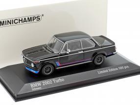 BMW 2002 Turbo (E20) year 1973 black 1:43 Minichamps