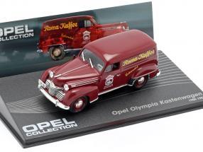 Opel Olympia Van Year 1950 - 1953 Romany Coffee 1:43 Ixo Altaya