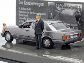Mercedes-Benz 500 SEL(W126) federal chancellor Helmut Kohl 1989