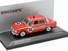 Alfa Romeo Giulia ONS circuit fuse 1973 1:43 Minichamps