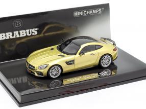 Brabus 600 GT S Year 2016 gold 1:43 Minichamps
