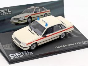 Opel Senator A2 Notarzt Year 1982-1986 1:43 Ixo Altaya