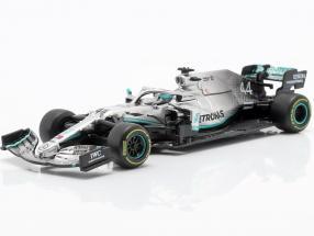 L. Hamilton Mercedes-AMG F1 W10 EQ #44 formula 1 World Champion 2019 1:43 Bburago