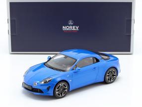 Renault Alpine A110 Legende 2018 alpine blue 1:18 Norev