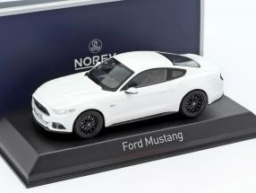 Ford Mustang year 2016 white 1:43 Norev