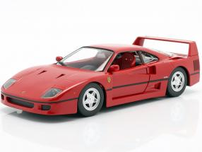 Ferrari F40 year 1987-1992 red 1:24 Bburago