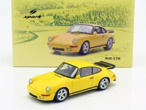 Porsche RUF CTR Yellowbird 1987 yellow 1:18 Spark