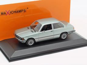BMW 323i (E21) year 1975 blue-grey metallic 1:43 Minichamps