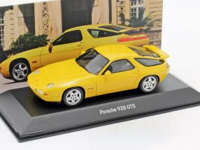 Porsche 928 GTS year 1992-1995 speed yellow 1:43 Spark