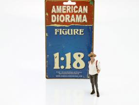 Partygoer Figure #3 1:18 American Diorama