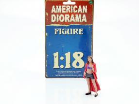 Partygoer Figure #8 1:18 American Diorama