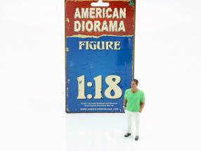 Partygoer Figure #9 1:18 American Diorama