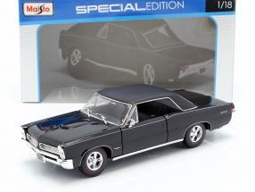 Pontiac GTO Year 1965 Hurst Edition black 1:18 Maisto