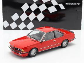 BMW 635 CSI E24 year 1982 red 1:18 Minichamps