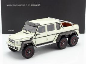 Mercedes-Benz G63 AMG 6x6 year 2013 designo diamond white 1:18 AUTOart