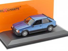 Opel Kadett D SR year 1982 blue metallic 1:43 Minichamps