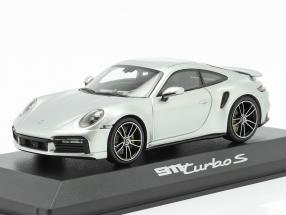 Porsche 911 (992) Turbo S year 2020 GT silver 1:43 Minichamps