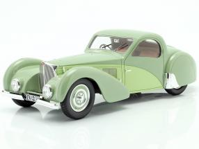 Bugatti T57SC Atalante year 1937 green 1:18 Matrix