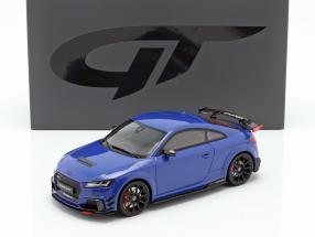 Audi TT RS Performance Parts 2018 blue metallic 1:18 GT-Spirit