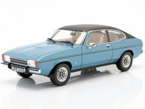 Ford Capri MK II year 1974 miami blue poly 1:18 OttOmobile