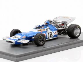 Jean-Pierre Beltoise Matra MS80 #18 4th Canadian GP formula 1 1969 1:43 Spark