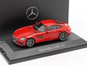 Mercedes-Benz AMG GT Coupe (C190) jupiter red 1:43 Norev