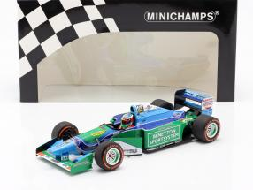 Mick Schumacher Benetton B194 #5 Demo Run GP Spa Formel 1 2017 1:18 Minichamps