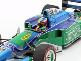 Mick Schumacher Benetton B194 #5 Demo Run GP Spa formula 1 2017