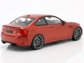 BMW M2 Competition year 2019 orange metallic