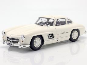 Mercedes-Benz 300 SL (W198) Gullwing year 1955 white 1:18 Minichamps