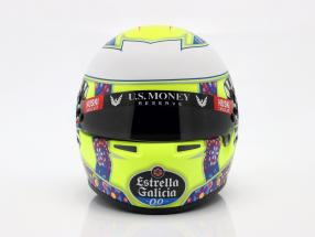 Lando Norris McLaren MCL34 #4 Mexico GP formula 1 2019 helmet 1:2 Bell