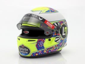 Lando Norris McLaren MCL34 #4 Mexico GP formula 1 2019 helmet