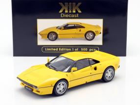Ferrari 288 GTO year 1984 yellow 1:18 KK-Scale