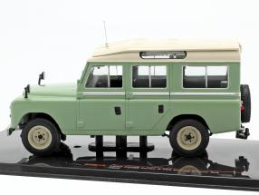 Land Rover Series II 109 Station Wagon 4x4 year 1958 light green / beige