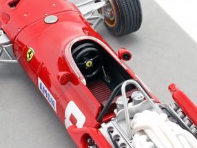 Chris Amon Ferrari 312/67 #8 3rd German GP formula 1 1967